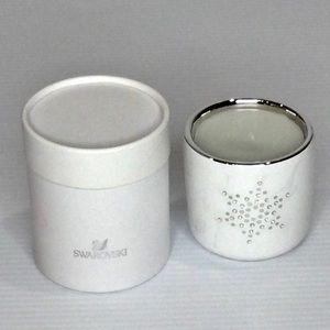 Swarovski Xmas Candle 5193057 Crystal NWT